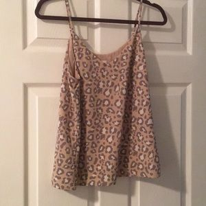 A New Day leopard cami size M